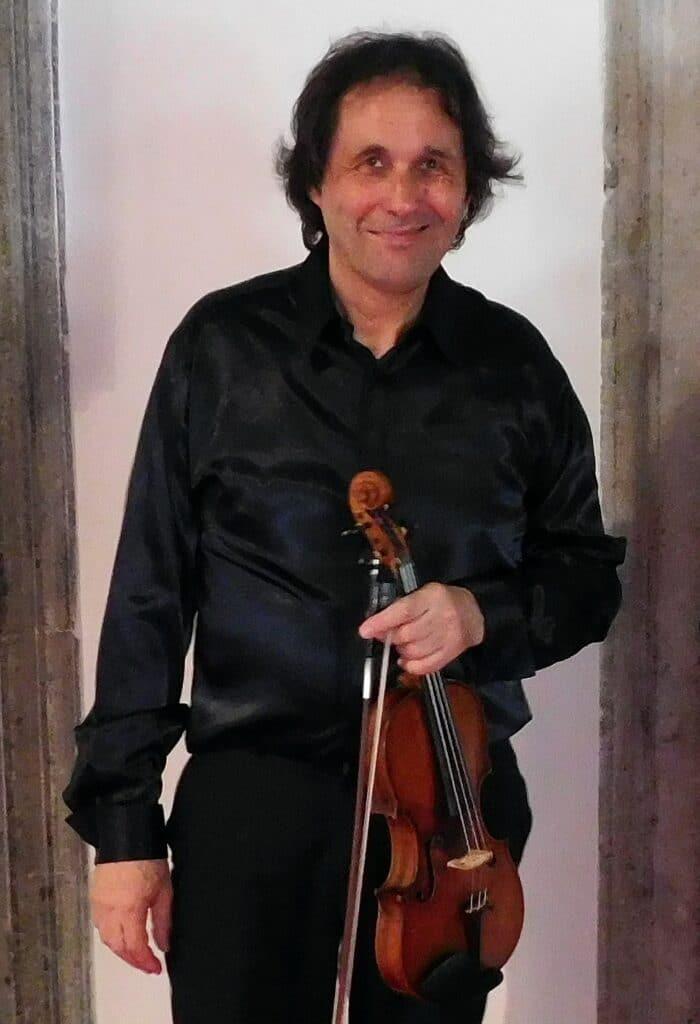 Violin Professor Volodja Balzalorsky