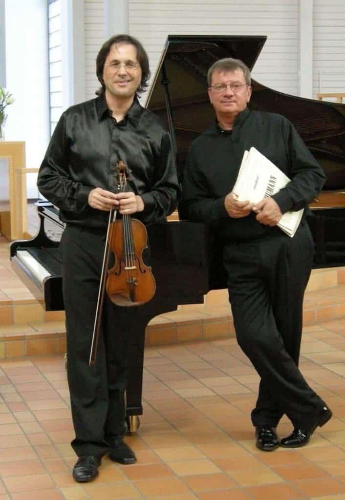 Winners of 13th IMA Awards- Volodja Balzalorsky and Hinko Haas