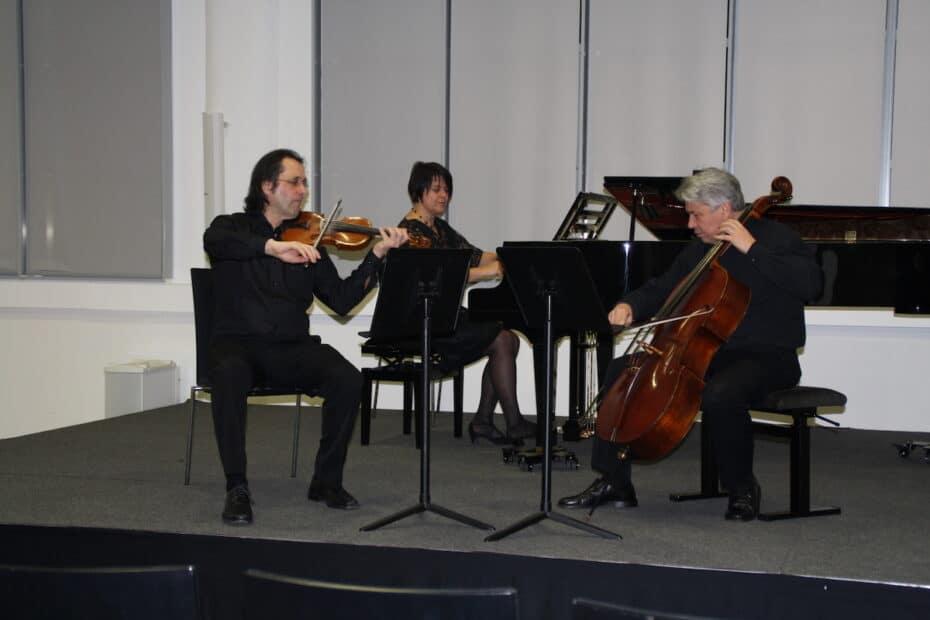 Amael Piano Trio ProNota Concert in Nordhorn