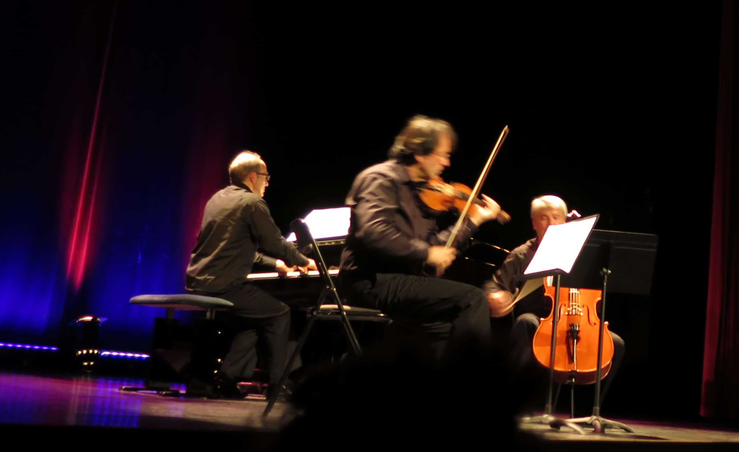 Amael Piano Trio on the stage