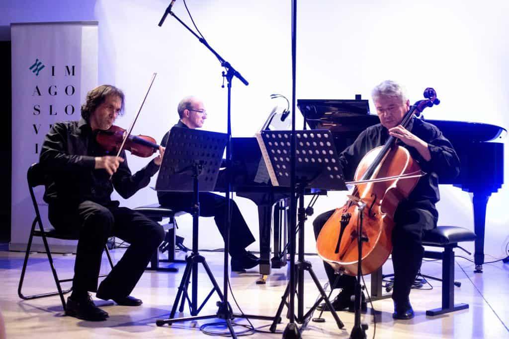 Ovations at Imago Festival for Amael Piano Trio