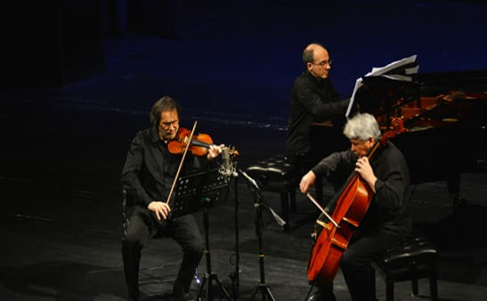 Standing Ovations for Amael Piano Trio at Vahdat Hall in Tehran