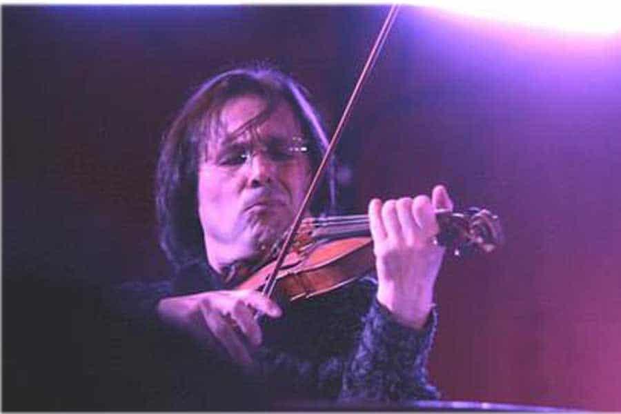 Five prestigious music awards for violinist Volodja Balzalorsky-Volodja Balzalorsky at SXSW Festival in Austin, Texas 2008