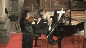 Volodja Balzalorsky at Ljubljana Festival