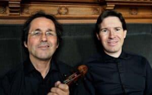 Violin Piano Duo of Volodja Balzalorsky and Peter Caelen-Photo