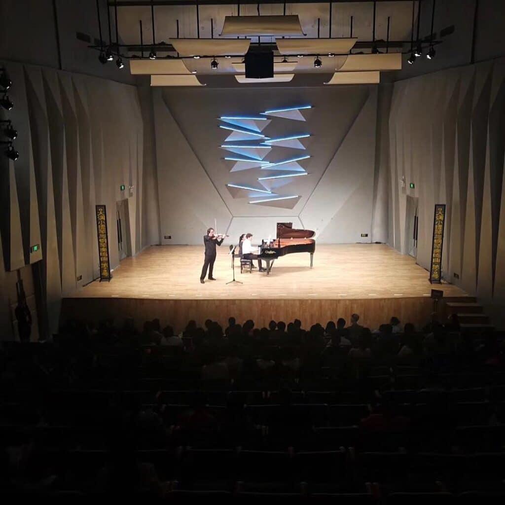 Volodja Balzalorsky and Peter Caelen Concert in Jiangmen